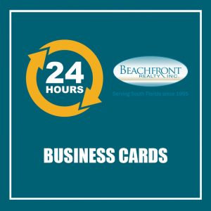 24 HOURS - BUSINESS CARDS - BR