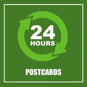 24 HOURS - POSTCARDS