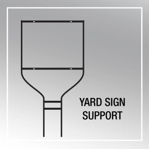 YARD SIGN SUPPORT