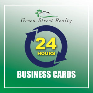 24 HOURS - BUSINESS CARDS - GRS