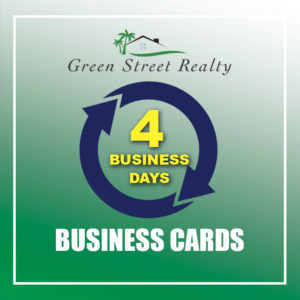 4 BUSINESS DAYS - BUSINESS CARDS - GRS