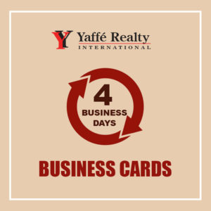 4 BUSINESS DAYS - BUSINESS CARDS - YR