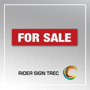RIDER SIGN TREC
