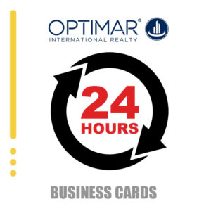 24 HOURS BUSINESS CARDS OR