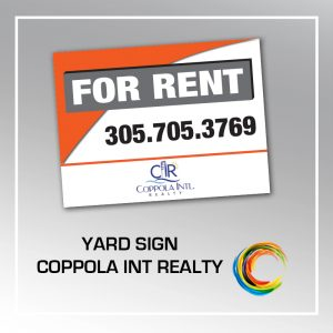 RESIDENTIAL YARD SIGN COPP