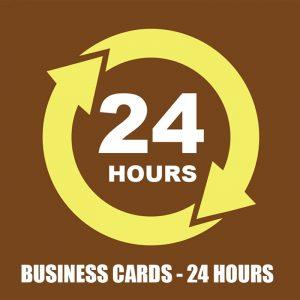24 HOURS - BUSSINES CARDS SR