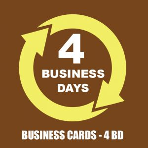 4 BUSINESS DAYS - BUSSINES CARDS SR