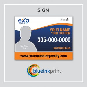 SIGN EXP REALTY