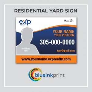 RESIDENTIAL YARD SIGN EXP REALTY