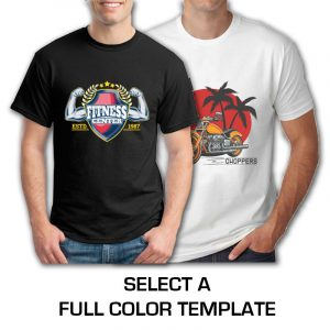 SELECT A FULL COLOR TEMPLATE